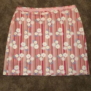 Duck Head Woman Plus Size Skirt Stripes/ Daisies